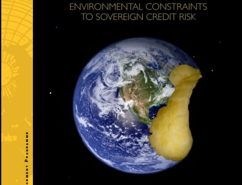 ERISC PHASE II: How food prices link environmental constraints to sovereign credit risk