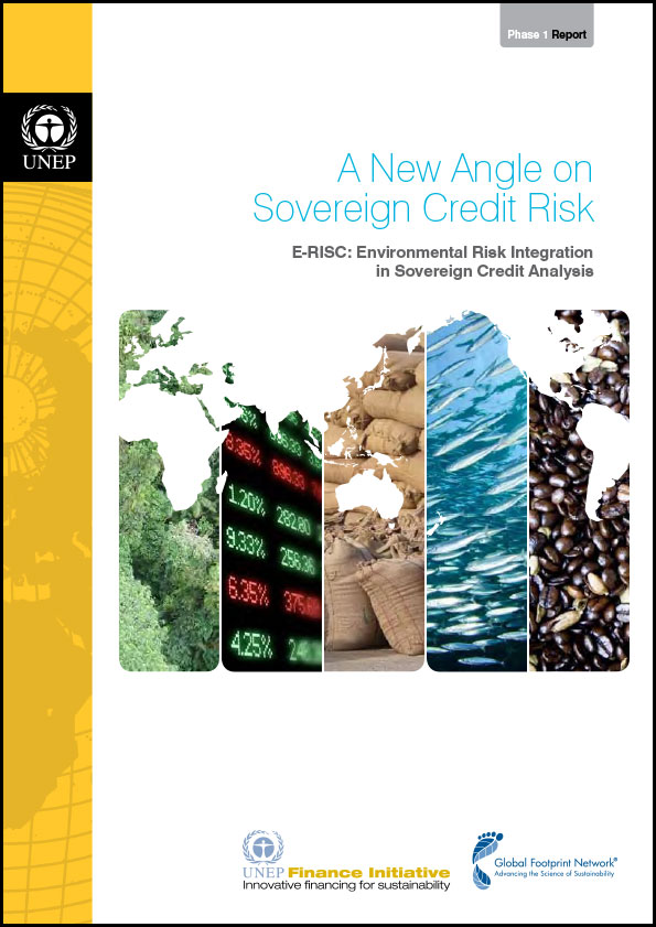 ERISC: A New Angle on Sovereign Credit Risk