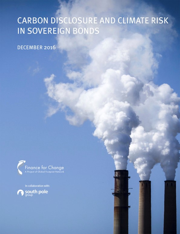 Carbon Disclosure and Climate Risk in Sovereign Bonds