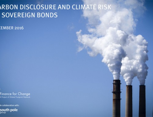 New Report Recommends Carbon Disclosure Methodology and Dashboard for Sovereign Bond Holders